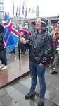 In het centrun kijken naar IJsland - Argentinië