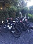Alle fietsen op een rijtje