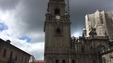 een gezellige middag in Santiago, het leven gaat door