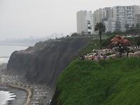 Miraflores...het grijze Lima.