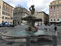 Een mooie fontein in Rome
