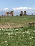 resten van oude bouwwerken aan de via appia