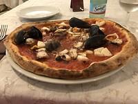 Een lekkere pizza!