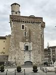 Het oude kasteel van Benevento