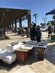 De vis markt.
