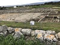 Zomaar langs de weg een Romeinse opgraving
