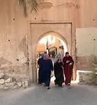 Een van de poorten naar de medina