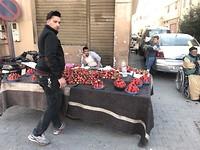 Aardbeien verkoop