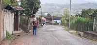 Op weg naar het dorp San Agustín