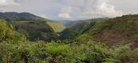 De vallei rondom La Chaquira