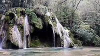 Cascade des Tufs in Les-Planches-près-Arbois