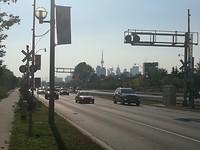 Centrum Toronto in zicht