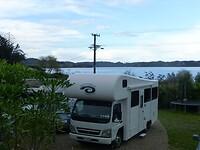 met deze camper gaan we de komende 7 weken door Nieuw Zeeland toeren
