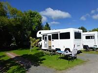 ons plekje op de camping bij Rotorua