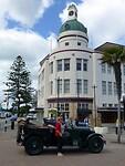 Art-Deco koepel op de Boulevard