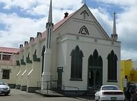 een prachtig goed geconserveerde houten kerk