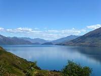 Lake Wanaka, een door ijs uitgesleten dal