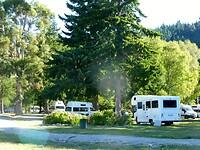 mooie camping aan Lake Wanaka