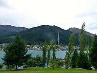 uitzicht op Queenstown en Lake Wakatipu
