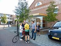 Gerko Groote stelt een volgwagen beschikbaar