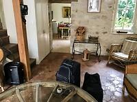 interieur van ons huisje in Moret-sur-Loing