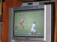 voetbal om de Africa Cup; Ghana wint met 2-1 van Tunesië