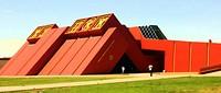 Buitenkant van het  museum