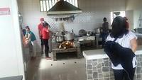Keuken weg restaurant