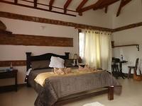 Villa de Leyva, onze kamer