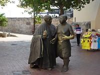 San Pedro de Claver met slaven hoofdman