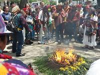 Maya ceremonie