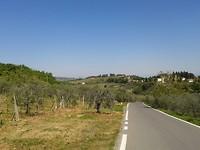 Landschap onderweg