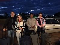 Puerto Iguazu AirPort met taxichauffeur Rafael