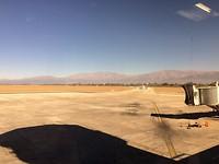 Vliegveld Salta, een heel nieuw soort uitzicht