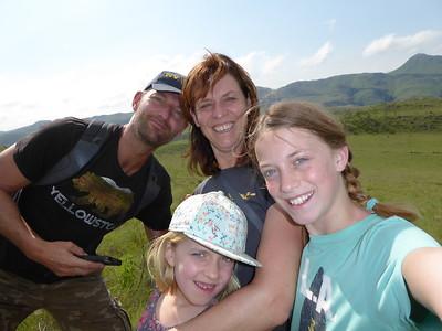 Hugo, Sigrid, Nina en Kiki