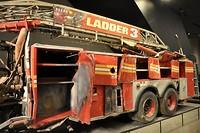 Brandweerwagen gebruikt op 11 september 2001