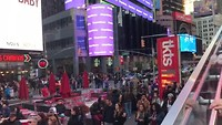 Times Square by daylight