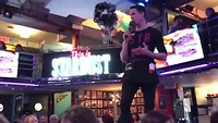 Singing waiters at Ellen's Stardust Diner