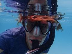 Mo'orea - Walvis excursie, even snorkelen