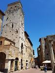 heerlijke pleinen in San Gimignano