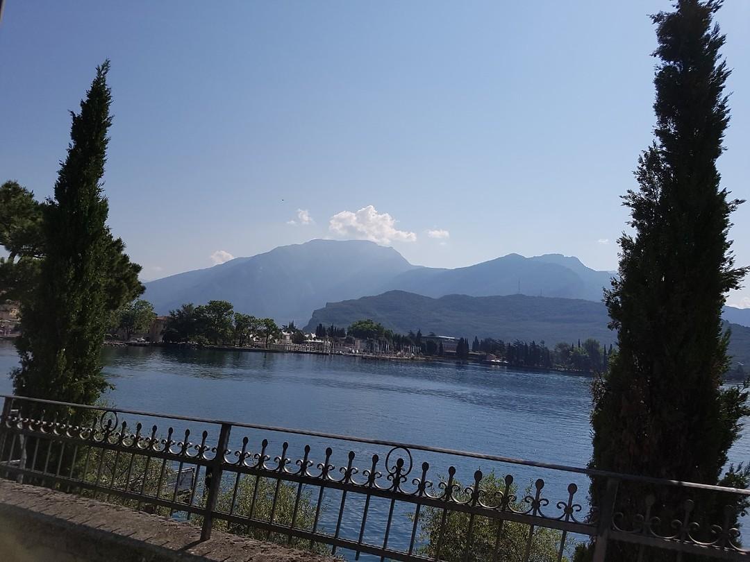 Onderweg langs Gardameer richting Brenner