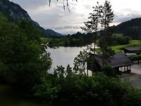 Uitzicht vanaf de camping Krambach