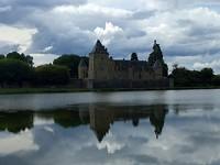 kasteel bij de camping La Chapelle dÁngillon