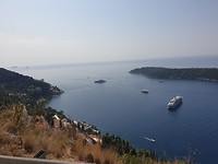De baai bij Dubrovnik
