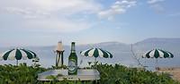 Albanië kleurt groen en wit en verrassend lekker bier, super zo op de camping