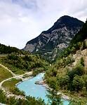 Rivier Nauders Oostenrijk