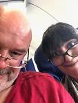 In het vliegtuig van Nagpur naar Delhi🤓