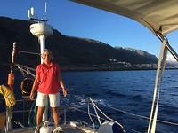 onderweg naar Santa Cruz de Tenerife