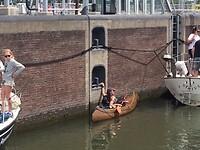 Kano in Oranjesluis