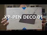 XP-Pen Deco 01 Grafiktablett zum Schreiben Zeichnen und Malen